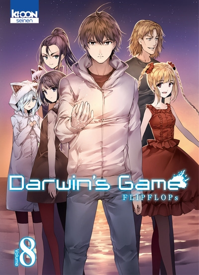 Couverture Darwin's Game, tome 08