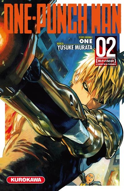 Couverture One-Punch Man, tome 2