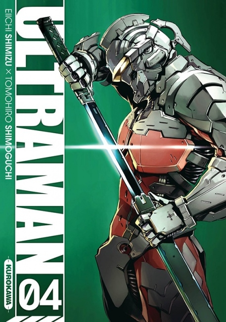 Couverture Ultraman, tome 4