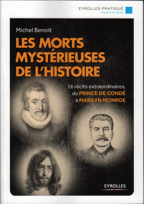 Couverture Les morts mystérieuses de l'histoire