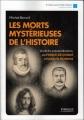 Couverture Les morts mystérieuses de l'histoire Editions Eyrolles 2016