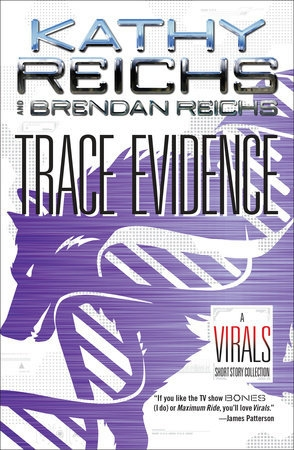 Couverture Trace Evidence: A Virals Short Story Collection