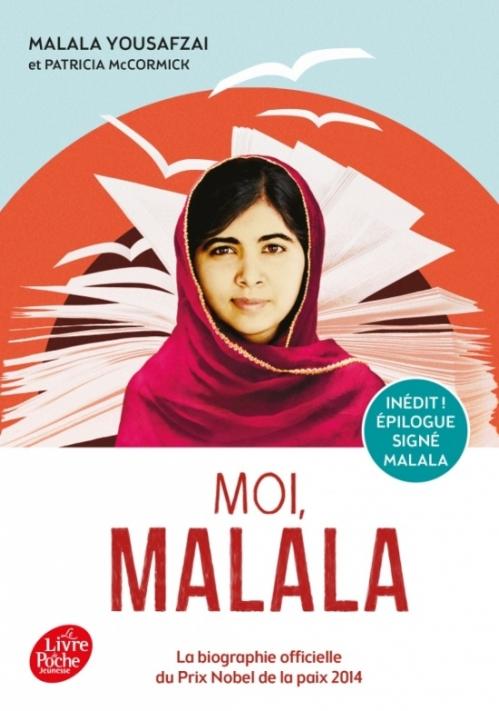 Couverture Moi, Malala (McCormick)