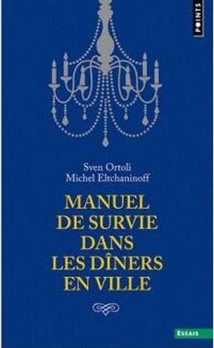 Couverture Manuel de survie dans les dîners en ville