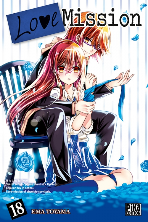 Couverture Love Mission, tome 18