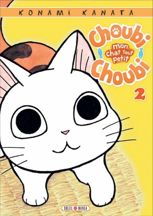 Couverture Choubi Choubi, mon chat tout petit, tome 2