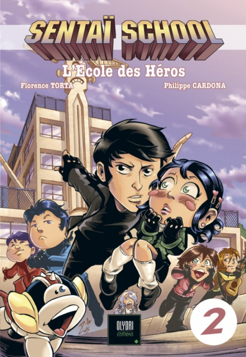 Couverture Sentaï school : L'école des héros, tome 2