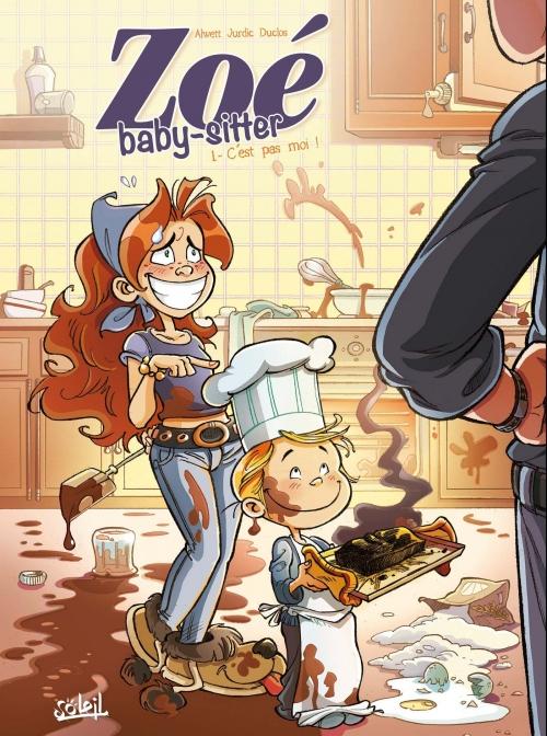 Couverture Zoé baby-sitter, tome 1 : C'est pas moi !