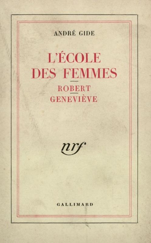 Couverture L'école des femmes : Robert, Geneviève
