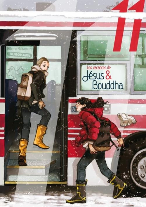 Couverture Les Vacances de Jésus & Bouddha, tome 11