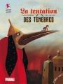 Couverture La Tentation des Ténèbres Editions L'élan vert (Pont des arts) 2016