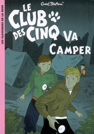 Couverture Le club des cinq va camper