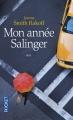 Couverture Mon année Salinger Editions Pocket 2016