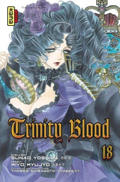 Couverture Trinity Blood, tome 18