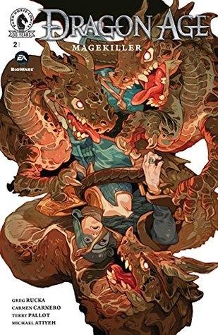 Couverture Dragon Age: Magekiller, book 2