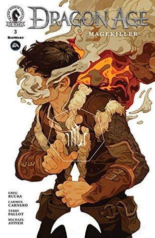 Couverture Dragon Age: Magekiller, book 3