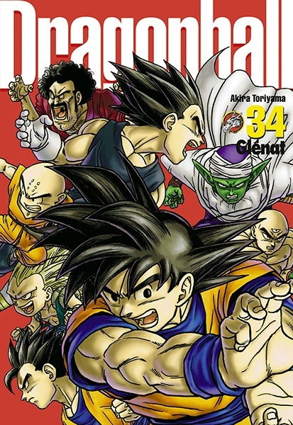 Couverture Dragon Ball, perfect, tome 34