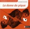 Couverture La dame de pique Editions Nathan (Carrés classiques) 2012