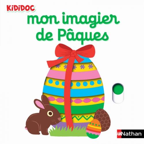 Couverture Mon imagier de Pâques