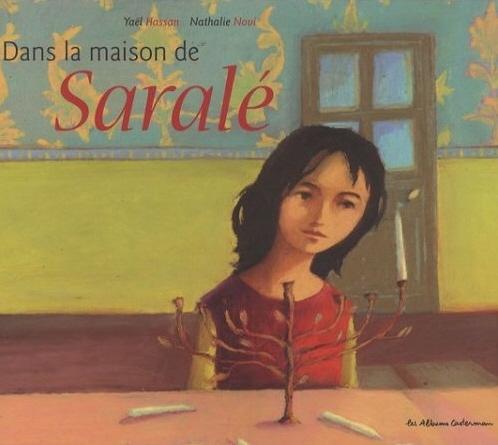Couverture Dans la maison de Saralé