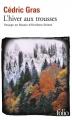Couverture L'hiver aux trousses Editions Folio  2016