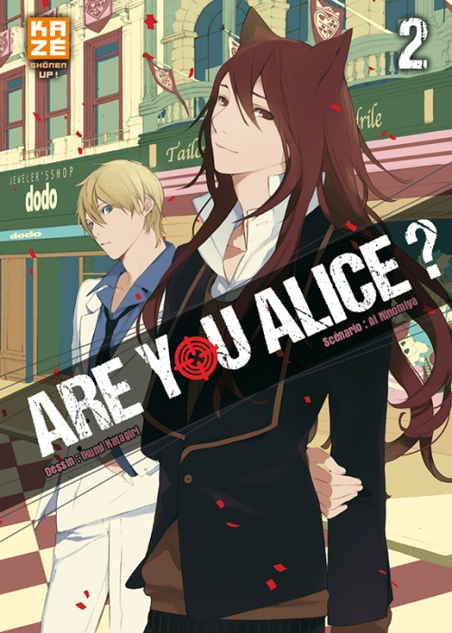 Couverture Are you Alice ?, tome 02