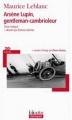 Couverture Arsène Lupin gentleman cambrioleur Editions Folio  (Plus classiques) 2013