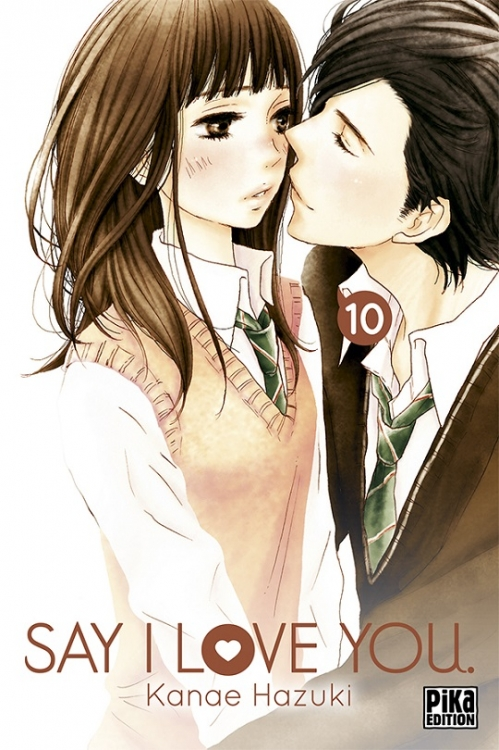 Couverture Say I Love You, tome 10