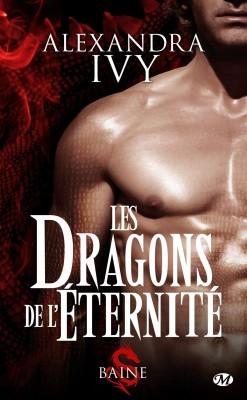 Couverture Les dragons de l'éternité, tome 1 : Baine