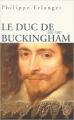 Couverture Le duc de Buckingham Editions Perrin 2005