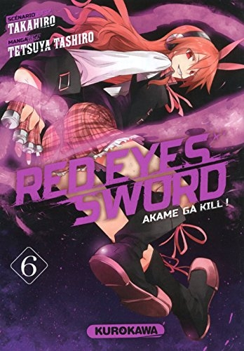 Couverture Red eyes sword, tome 06