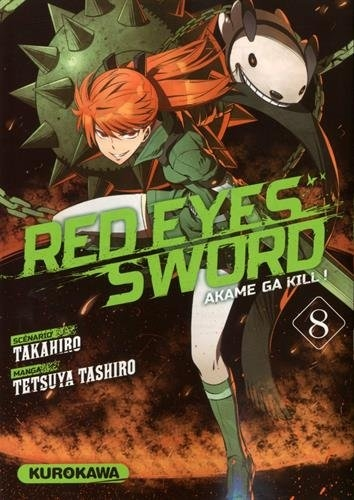Couverture Red eyes sword, tome 08