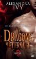 Couverture Les dragons de l'éternité, tome 1 : Baine Editions Milady (Bit-lit) 2016