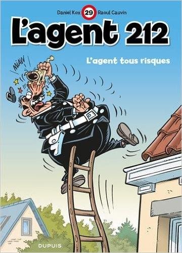 Couverture L'agent 212, tome 29 : L'agent tous risques