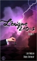 Couverture L'énigme 2 + 0 = 3, tome 4 Editions Sharon Kena 2016