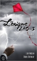 Couverture L'énigme 2 + 0 = 3, tome 5 Editions Sharon Kena (Romance) 2016