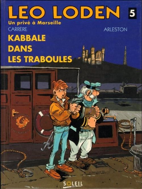Couverture Léo Loden, tome 05 : Kabbale dans les Traboules