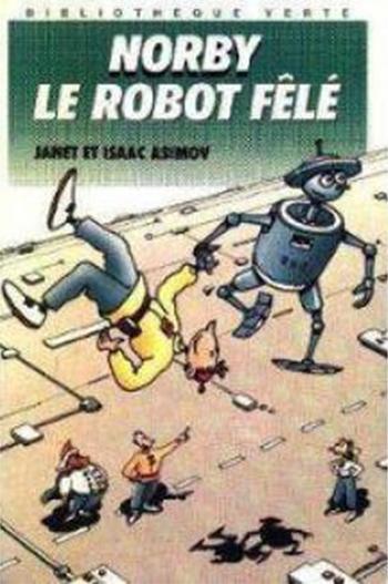 Couverture Norby, le robot fêlé
