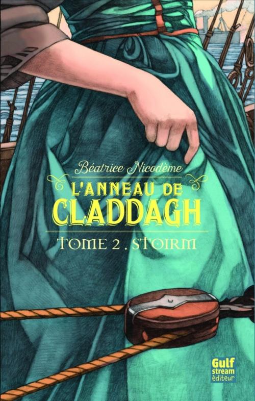 Couverture L'anneau de Claddagh, tome 2 : Stoirm