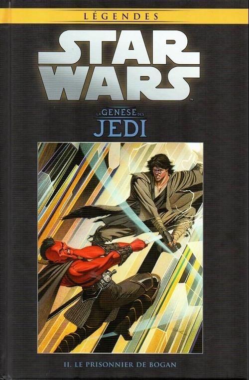Couverture Star Wars (Légendes) : La Genèse des Jedi, tome 2 : Le Prisonnier de Bogan