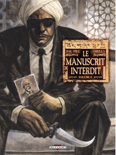Couverture Le Manuscrit Interdit, tome 2
