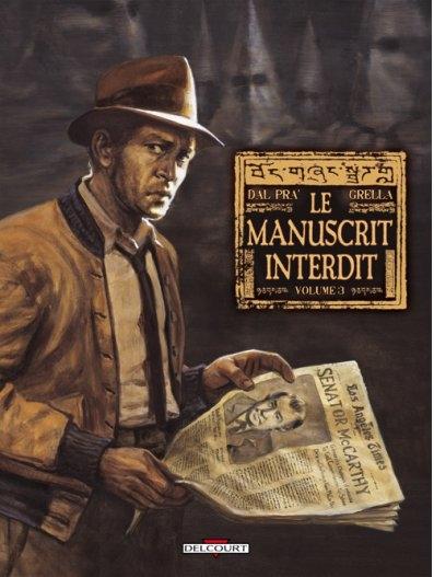 Couverture Le Manuscrit Interdit, tome 3