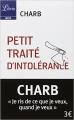 Couverture Les fatwas de Charb, petit traité d'intolérance , tome 1 Editions Librio (Idées) 2015