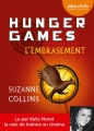 Couverture Hunger games, tome 2 : L'embrasement Editions Audiolib 2014