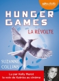 Couverture Hunger games, tome 3 : La révolte Editions Audiolib 2014