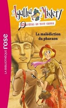 Couverture Agatha Mistery : Enquêtes en tout genre, tome 2 :  La malédiction du pharaon
