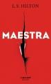 Couverture Maestra Editions Robert Laffont (La bête noire) 2016