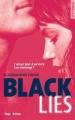 Couverture Black Lies Editions Hugo & Cie (New Romance) 2016