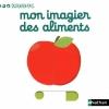 Couverture Mon imagier des aliments Editions Nathan (Kididoc) 2011