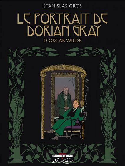 Couverture Le portrait de Dorian Gray (BD)